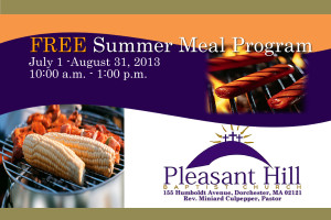 Free Summer Meal Program